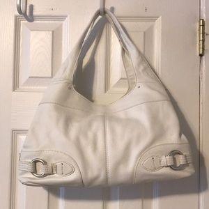 Sigrid Olsen white leather bag